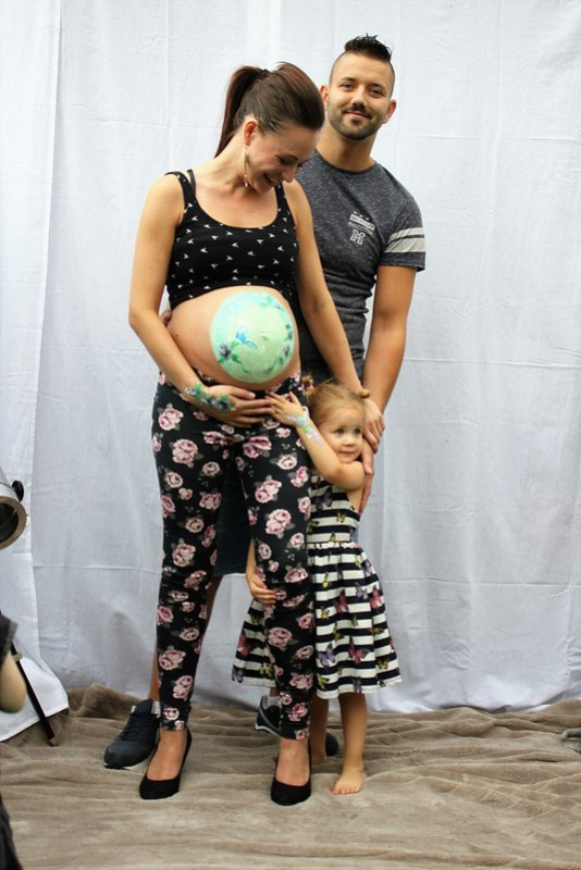 Papa achter de Mamablogger Mama's Jungle Lori