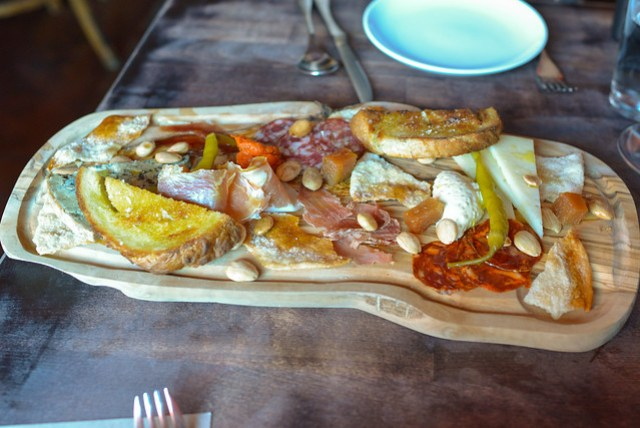 xarcuteria d'iberic charcuterie of iberian meats & cheese