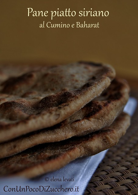Pane piatto siriano 1