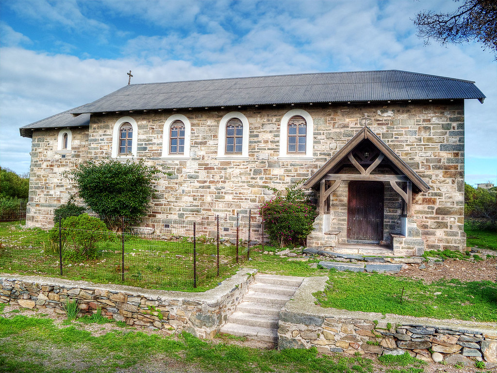 Leper Church on Robben Island.
