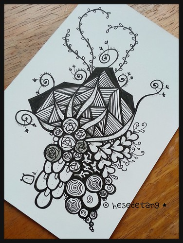 Zentangle Inspired Art International Swap Series