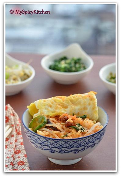 Blogging Marathon, Around the World in 30 Days with ABC Cooking, Korean Food, Korean Cuisine, Korean Rice