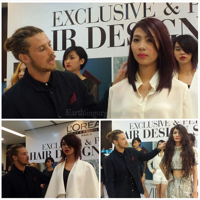 #TrustOnlyMajirel Exclusive and Personal Hair Design Session with David Mercer