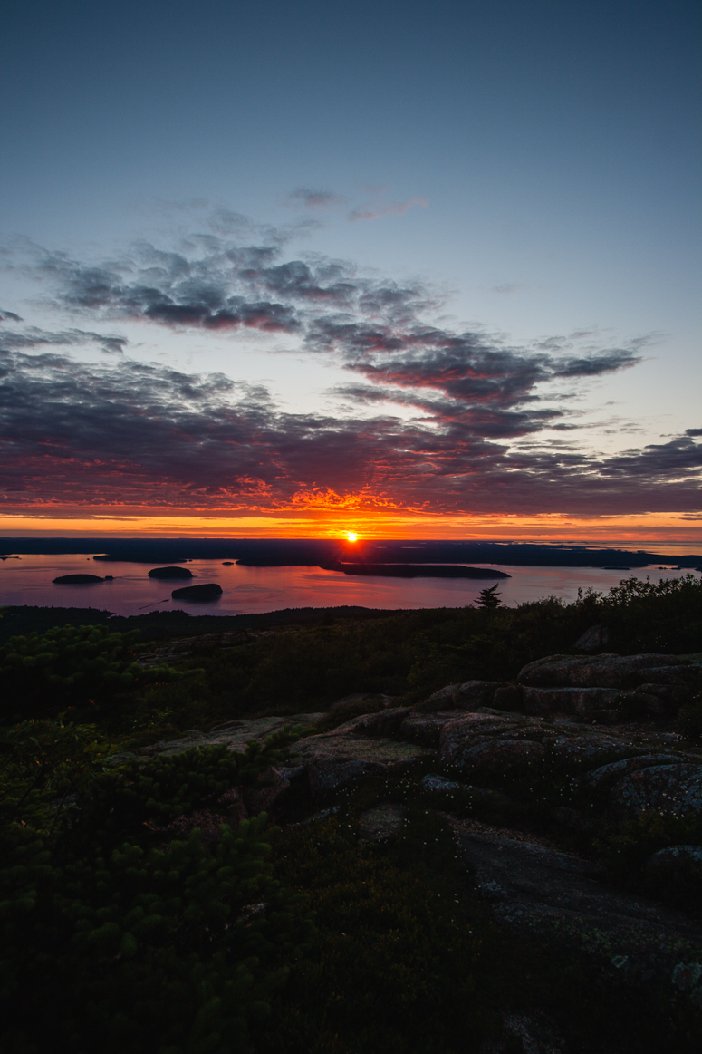 sunrise | cadillac mountain | acadia national park