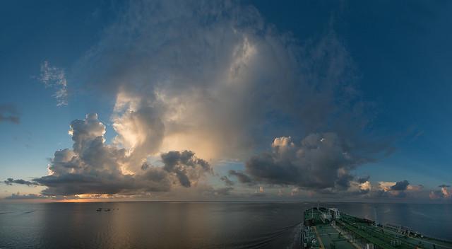 Galveston Bay, Summertime