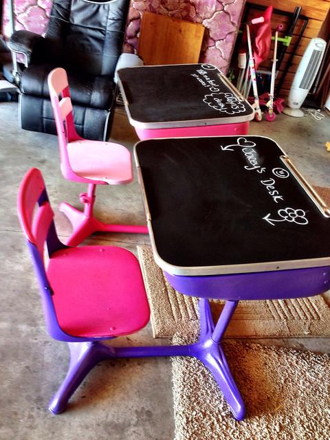 School desks-redo!