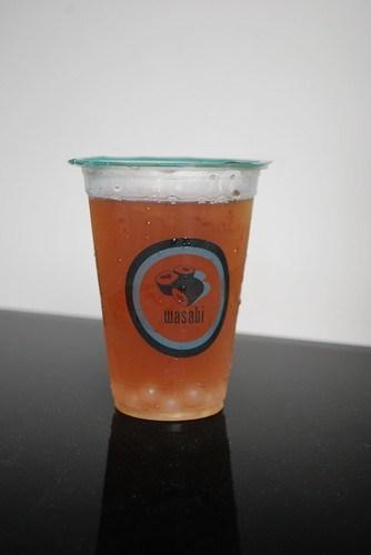 Wasabi bubble tea