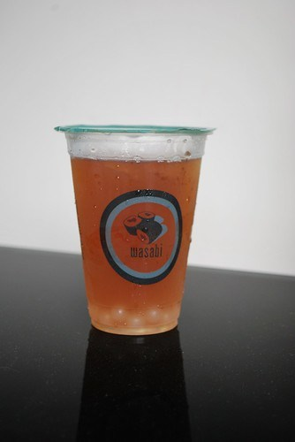 Wasabi bubble tea