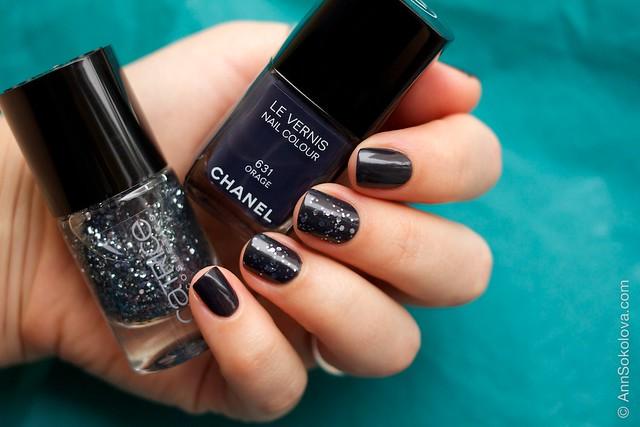01 Chanel #631 Orage + Catrice #40 I'm Dynamite