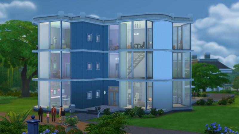 Les Sims 4 Spencer-Kim-Lewis
