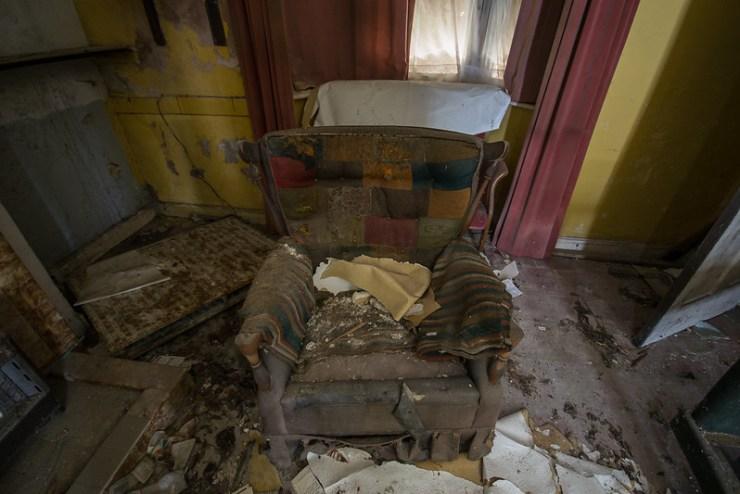Derelict House, Sheringham