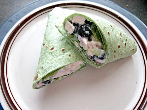 Blueberry  Chicken Salad Wrap (1)