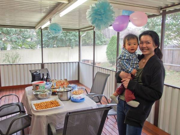 Jared 1st Birthday