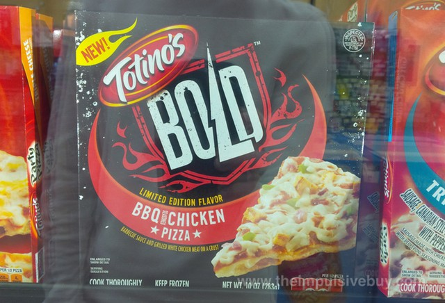 Totino's Bold Limited Edition Flavor BBQ Seasoned Chicken Pizza