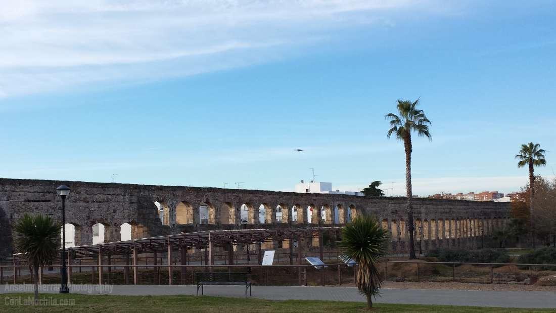 Acueducto y termas de San Lázaro - Mérida - Badajoz