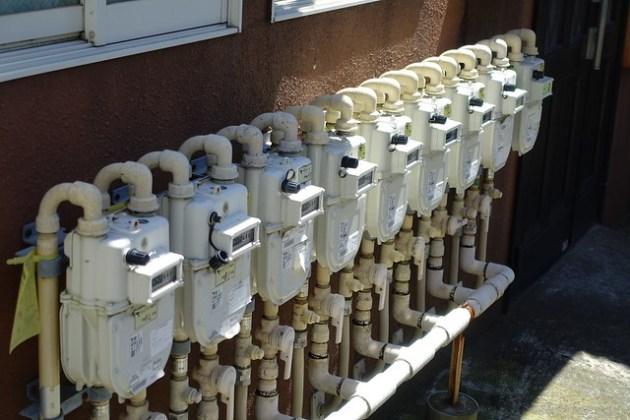 ガスメーター gas meter