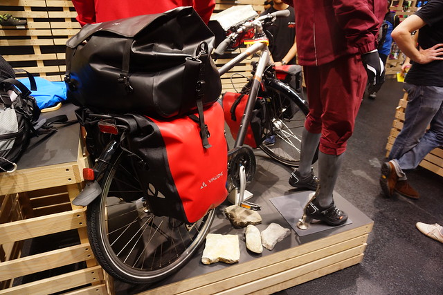 Eurobike 2014: Vaude bike luggage