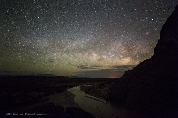 Big Bend and Rio Grande Nightscape