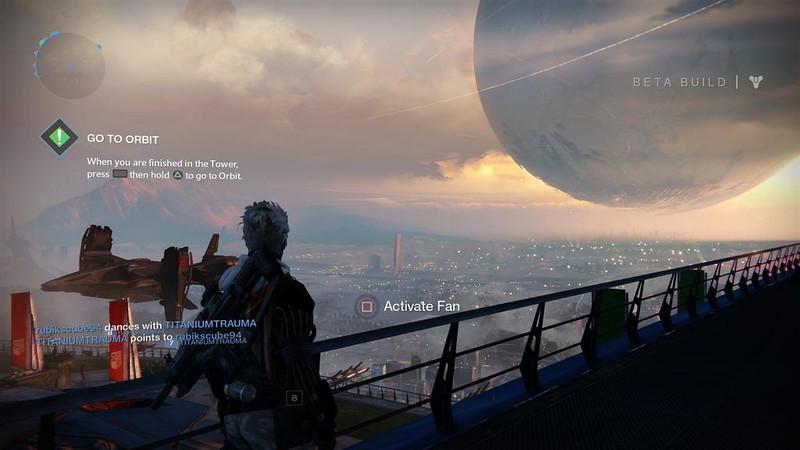 Destiny - Tower view