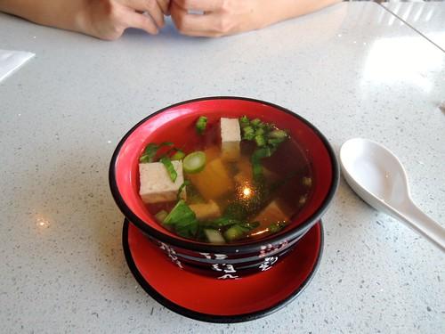 King's cafe, Miso Soup, Toronto