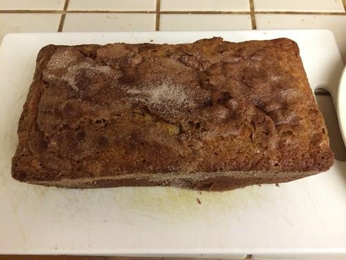 Apple cinnamon raisin Amish Friendship Bread