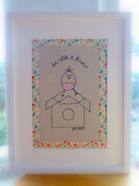Applique picture gift