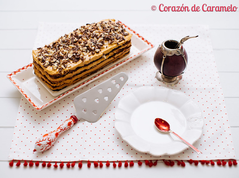 Chocotorta argentina for Corazon de caramelo