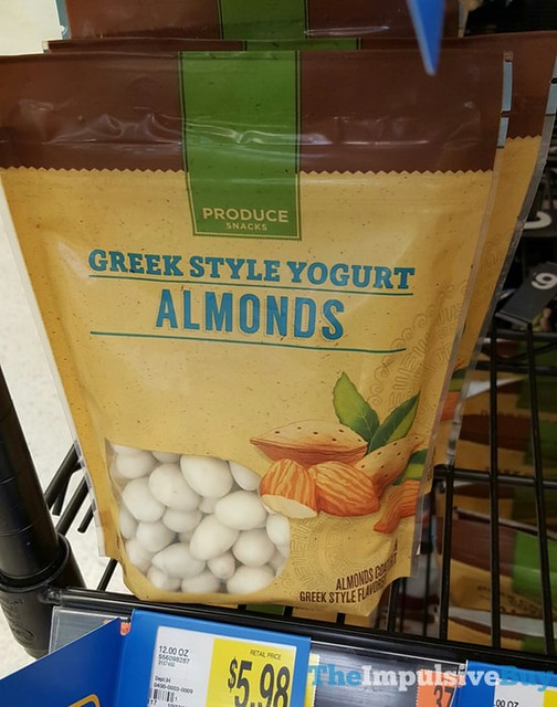 Produce Snacks Greek Style Yogurt Almonds