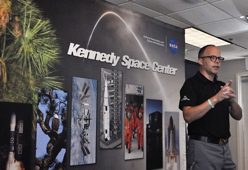 #NASASocial #SpaceX4 - Cobra-Puma's  Michael Yagley Speaks to NASA Social Group, Sept. 18, 2014