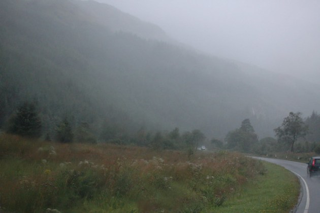 Rainy Scotland Roads 02