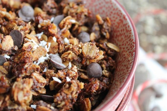 granola chocolat recette