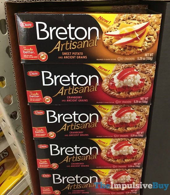 Dare Breton Artisanal with Ancient Grains (Sweet Potato and Cranberry)
