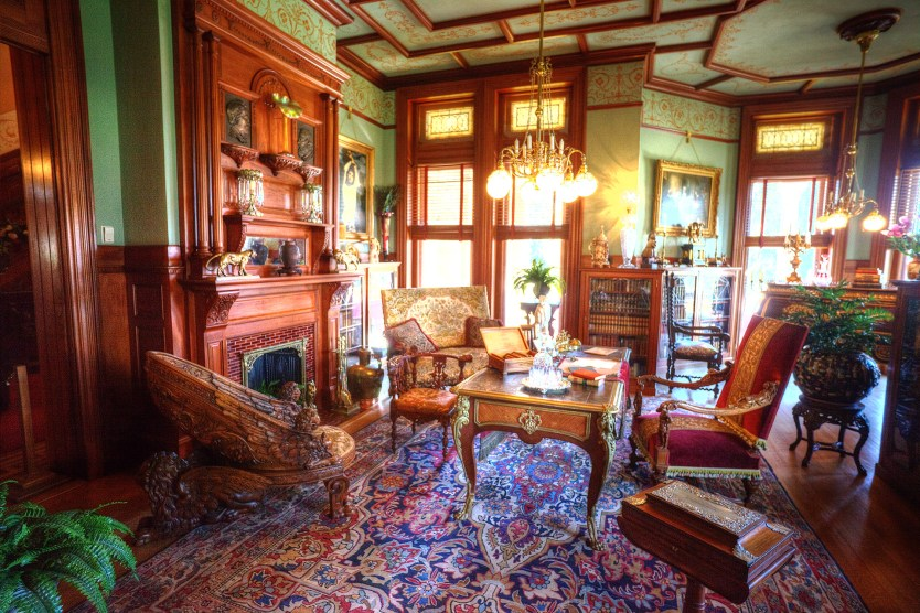 The Study at Maymont Mansion