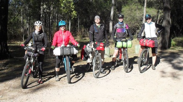Team at Crows Nest NP