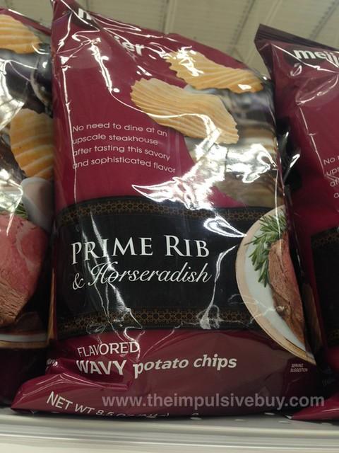 Meijer Prime Rib & Horseradish Wavy Potato Chips