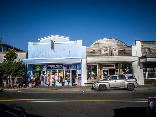 Store Fronts at Long Beach