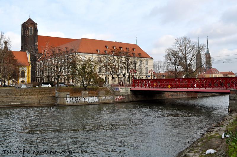 WROCŁAW - Most Piaskowy / Kościół Najświętszej Marii Panny na Piasku / Archikatedra św. Jana Chrzciciela