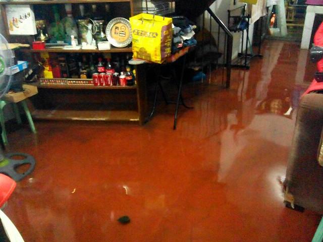 water getting inside
