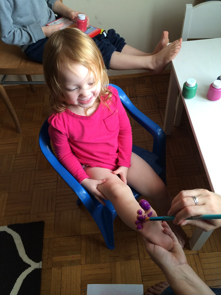 Painting Toes (9/3/14)