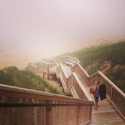 Kouw beach in the clouds. #puremichigan