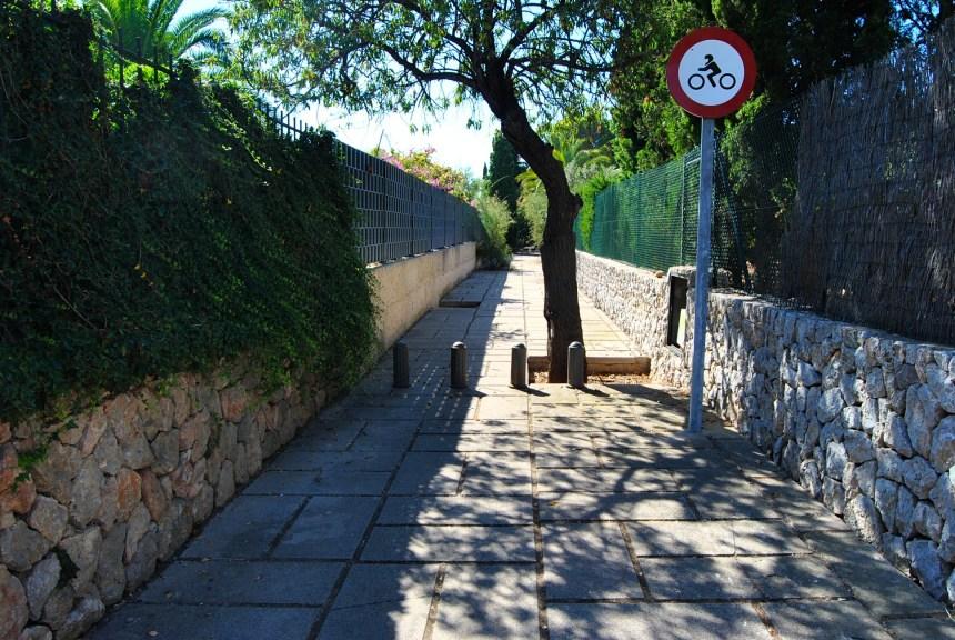 Cap d'es Gegant/ Platja de S'Hostalet ( Calviá)