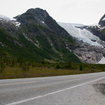 6 viajefilos en Noruega, Suppehellebreen y Boyabreen 04