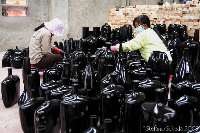 Pottery factory - Dong Trieu, Vietnam