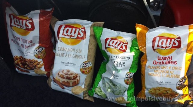 Canada Lay's Do Us a Flavor