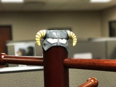Coatrack helmet