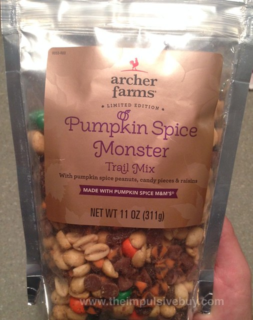 Archer Farms Limited Edition Pumpkin Spice Monster Trail Mix