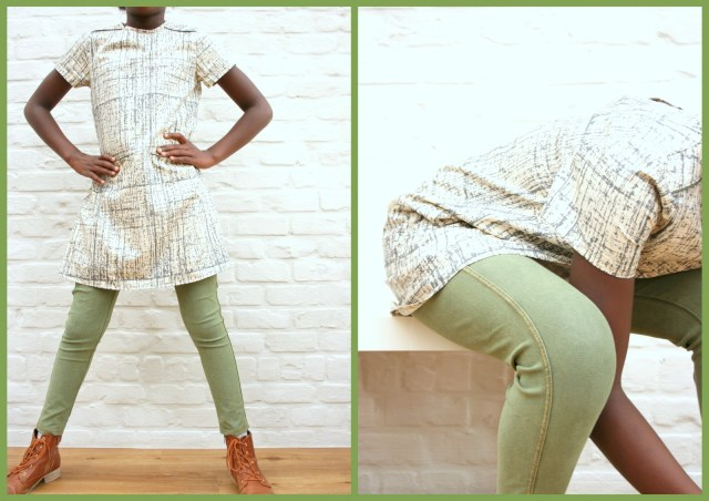 A-lijn jurk (collage)