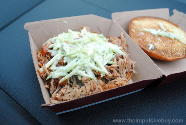 Wendy's BBQ Pulled Pork Sandwich 2