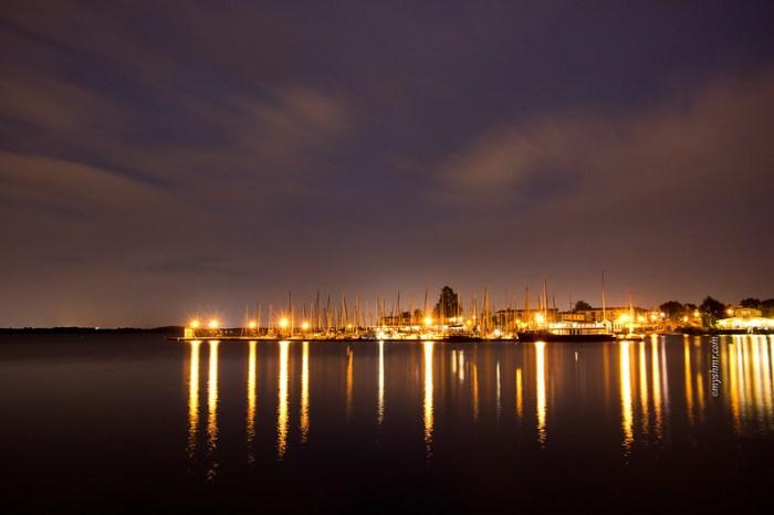 Ein Abend am See