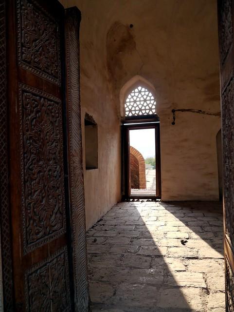 Sunlight through the Door
